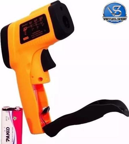 termômetro laser digital infravermelho temperatura -50º-380