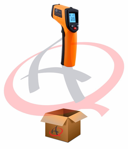 termômetro laser digital infravermelho temperatura -50º~380º