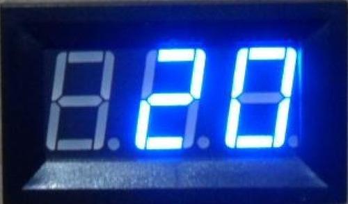 termômetro sensor termopar 12 volts com moldura dc  -30~70°