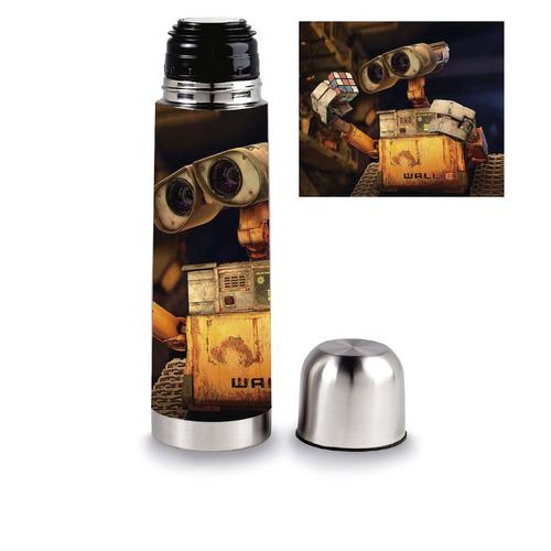 termo 1 litro + mate regalo diseño disney wall e eva