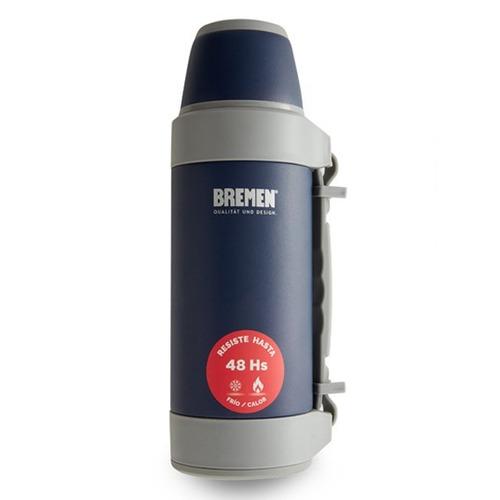 termo 1,2 ls - 48hs bremen garantía x vida + botella
