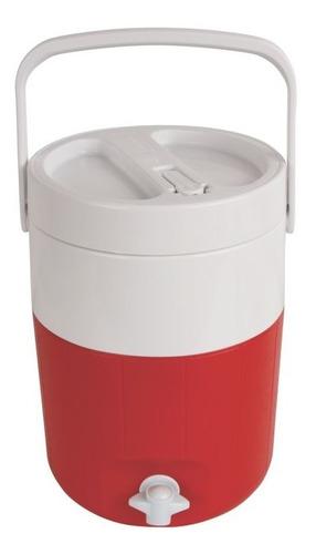 termo 2 galones rojo con grifo agua fria 5592-703 coleman