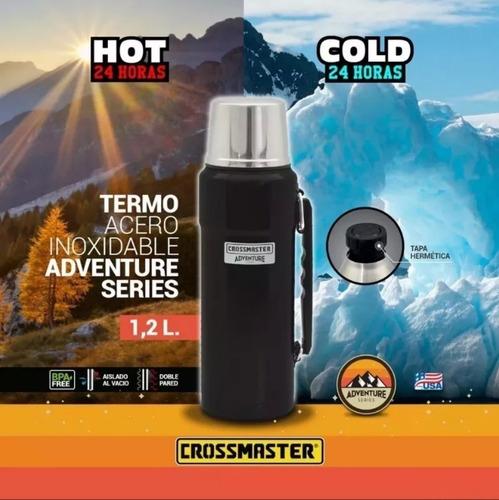 termo acero inoxidable adventure series 1.2 l crossmaster