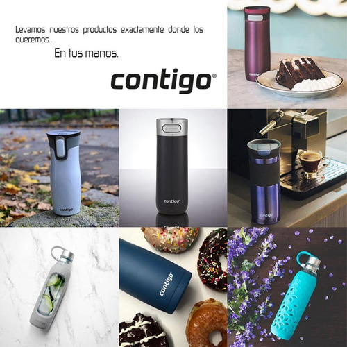 termo acero inoxidable west loop 2.0 de 710 ml contigo