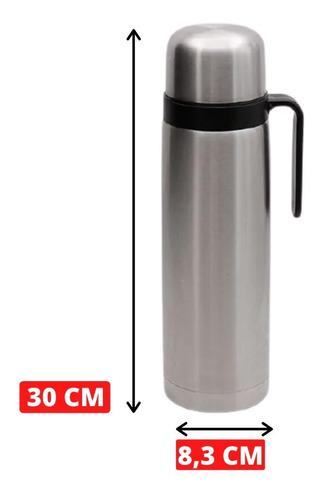 termo acero uruguayo 1 litro pico matero inoxidable manija