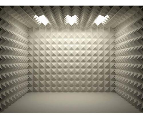 termo acustico aislante panel piramidal 48 x 48 x 5cm cod