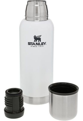 termo adventure 750ml blanco stanley