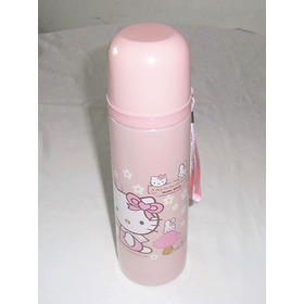 Termo Agua Caliente /fria Bebe Tetero 350 Ml Hello Kitty