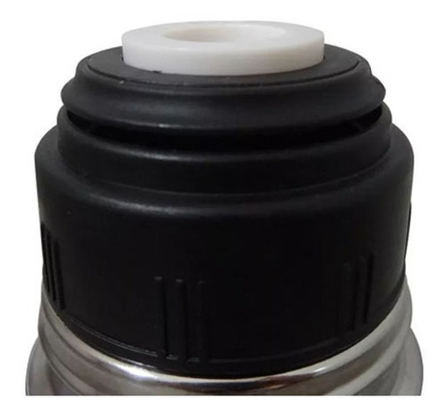 termo bala de acero inoxidable 1 litro tapon matero