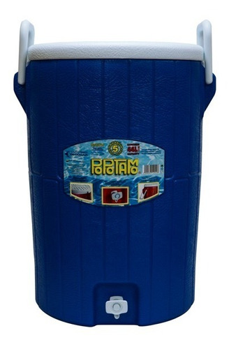termo barril con asa con capacidad para 44 lts
