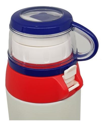 termo bebidas calientes doble tapa dispensador