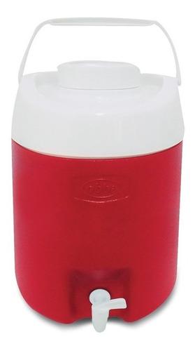 termo bidón plástico irrompible con canilla 12 lts