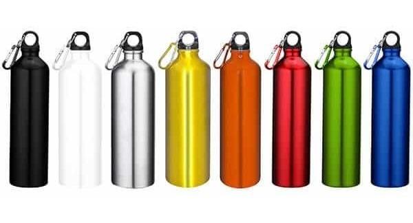 Vobome Botella de agua termo de la taza del termo de la aleaci/ón de aluminio del patr/ón animal de la historieta 500mL Teteras
