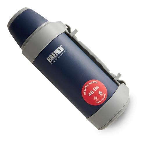termo bremen de acero inoxidable 48hs 1,2 litros 7133 matero