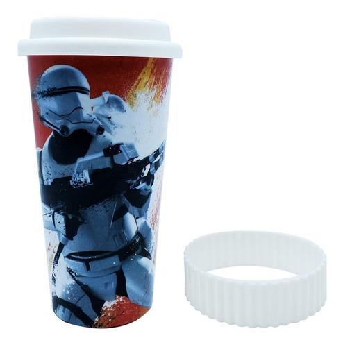 termo cafe vaso termico star wars disney trooper 450ml
