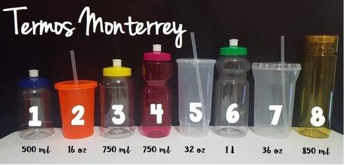 termo cilindro de colores dulcero bules 750ml