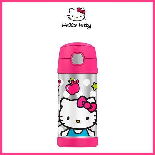 termo cilindro hello kitty 355ml