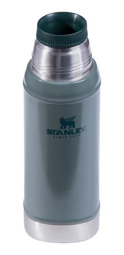 termo clasico 750 ml verde con tapon cebador small stanley