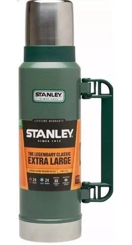 termo clasico stanley 1.3 lts c/ tapon cebador (no envios)