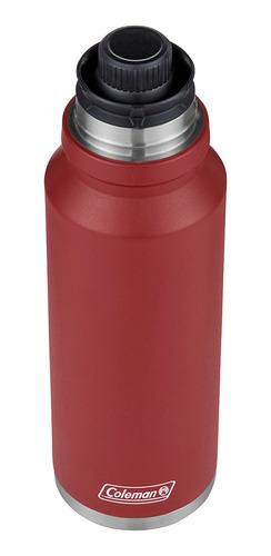 termo coleman acero 1200ml matero rojo coleman