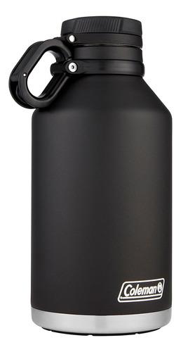 termo coleman acero inox 1900 ml growler negro coleman