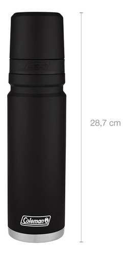 termo coleman acero inox 700ml negro coleman