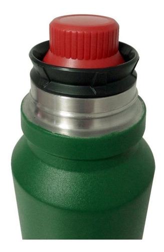 termo coleman matero 1,2 lt acero inoxidable verde