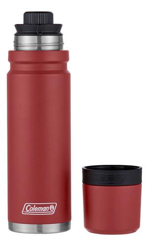 termo colman acero 700ml hrtg red coleman