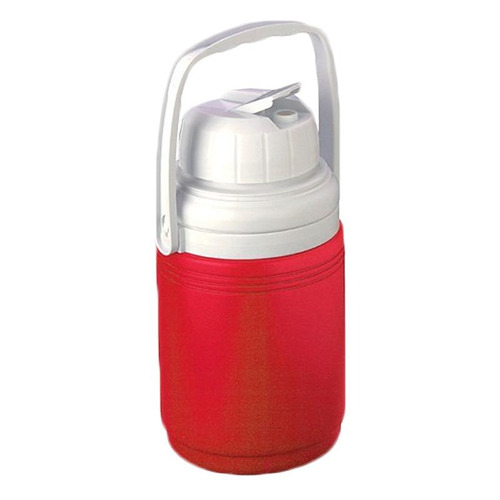 termo de 1/3 de galon rojo poly lite coleman 5542a763g