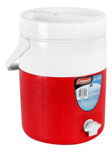 termo de 2 galones poly lite rojo coleman 5592a703g