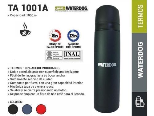 termo de acero inox. de waterdog 1 litro bala local palermo°