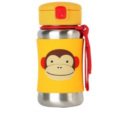 termo de acero inoxidable niños niñas, skip hop zoo ,monkey