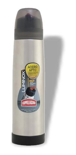 termo de acero lumilagro luminox 1lt original alta calidad