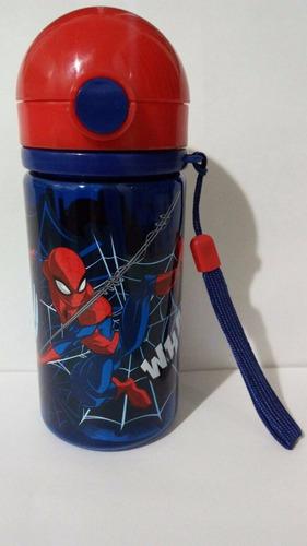 termo disney 400ml star wars frozen spiderman dra juguetes