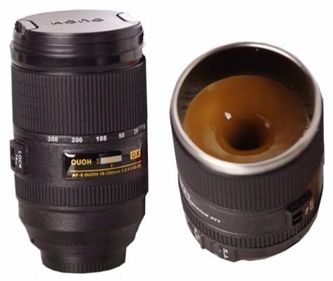 termo forma lente de cámara con agitador interior acero inox