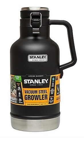 termo growler 1,9 lt stanley - negro, verde o azul - cerveza