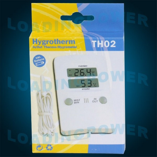 termo-higrômetro digital c/ sensor+certificado rastreado rcb
