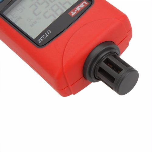 termo higrometro medidor tester de humedad temperatura unit