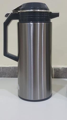 termo jarra de acero inoxidable 1,9 l con manija