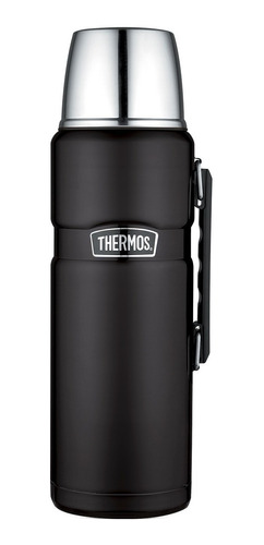 termo liquido  king acero inox 2 litros negro - thermos