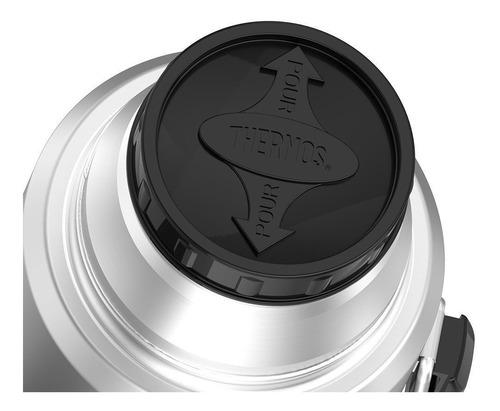 termo liquido king acero inox 470 ml silver - thermos