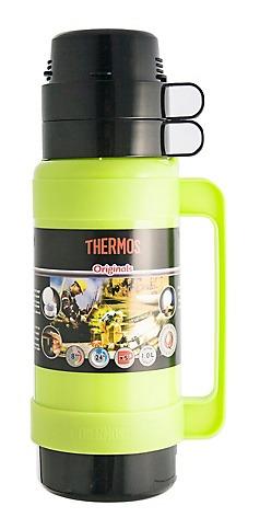 termo líquido mondial 1lt verde - thermos