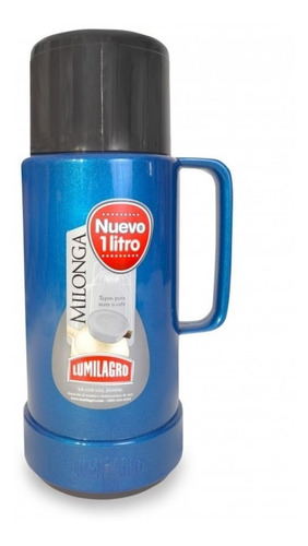 termo lumilagro milonga compacto 1 litro muy resistente