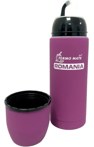 termo mate autocebante acero inox  romania  de 450 ml