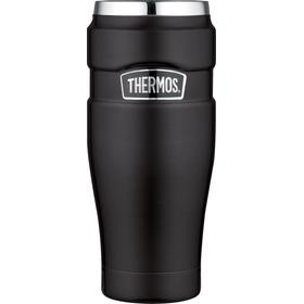 Termo Mug King Acero Inox 470 Ml Negro - Thermos