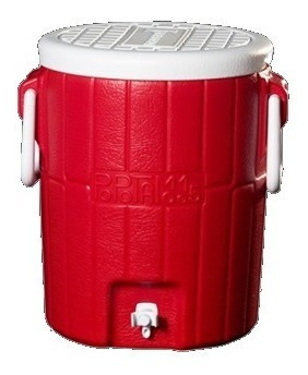 termo para agua decocar potamo 15 lts rojo