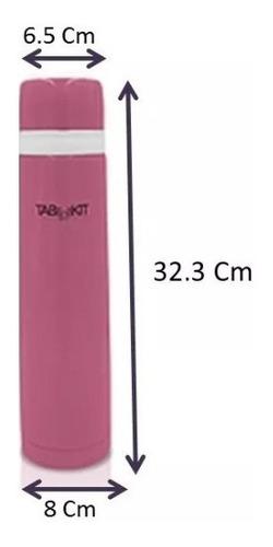 termo para agua fría/caliente acero inox. 1 l varios colores