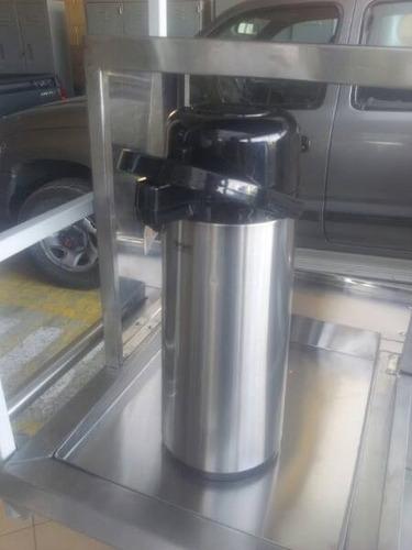 termo para cafe en acero inoxidable