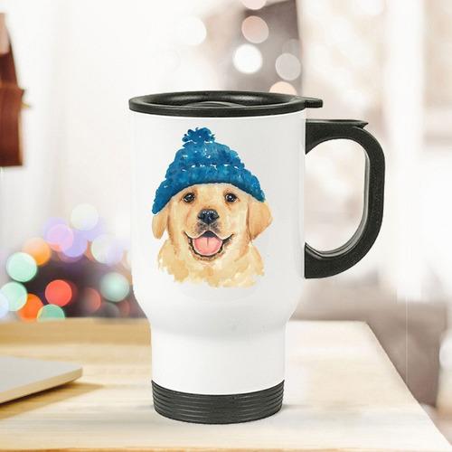 termo para café  perrito labrador