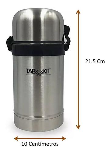 termo para comida de acero inox. cap. 800 ml